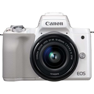 Canon EOS M50 (White) + EF-M 15-45 IS STM (Black) - Demonstracinis (expo)