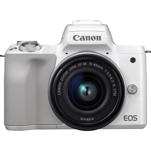 Canon EOS M50 15-45 IS STM (White)