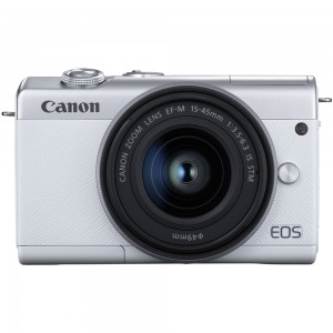 Canon EOS M200 15-45 IS STM (White)