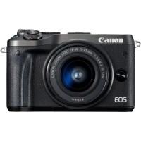 Canon EOS M6 15-45mm IS STM (Black)
