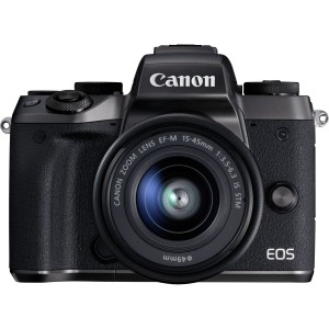 Canon EOS M5 EF-M 15-45mm IS STM (Black)