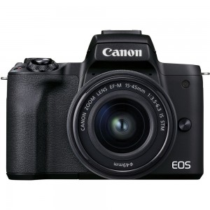 Canon EOS M50 Mark II 15-45 IS STM (Black)