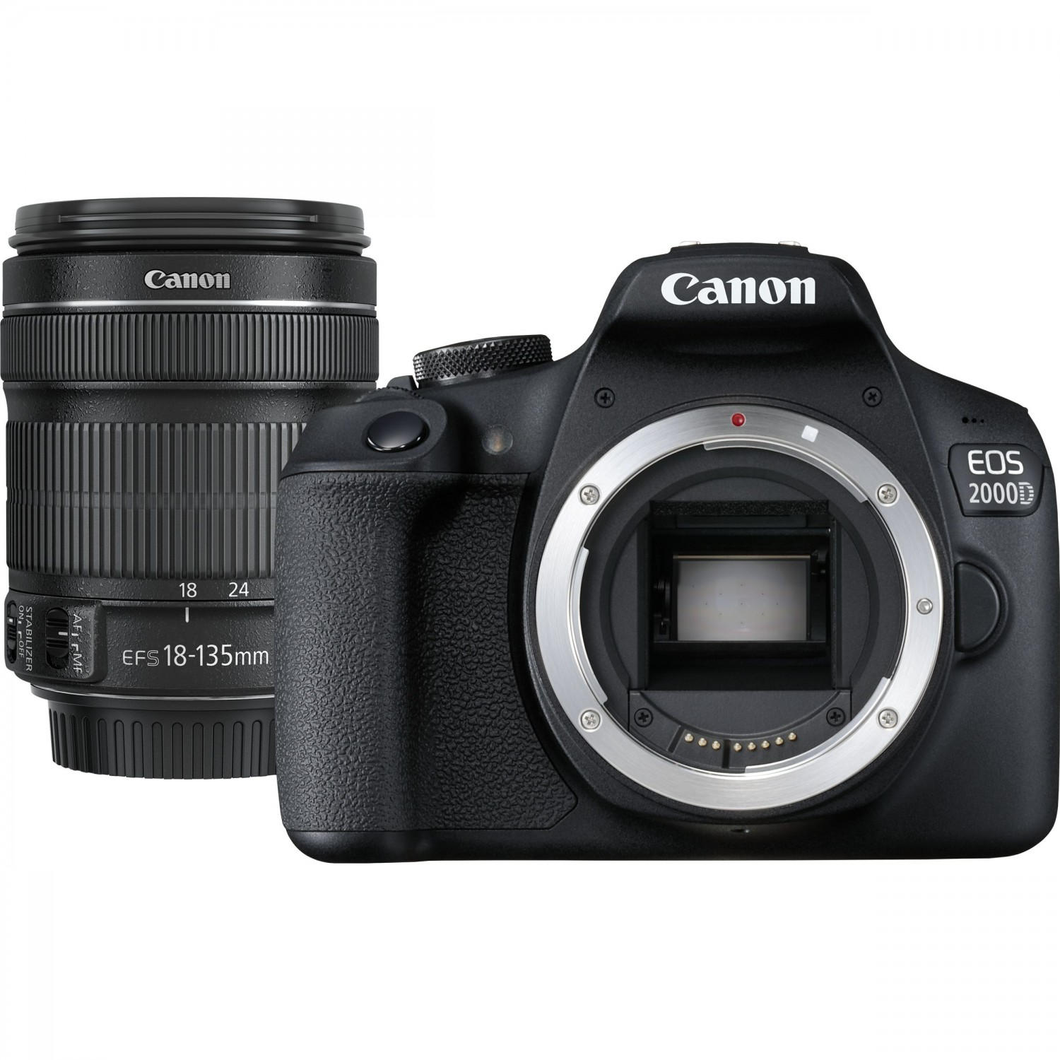 Canon EOS 2000D 18-135mm IS STM