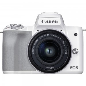 Canon EOS M50 Mark II 15-45 IS STM (White)