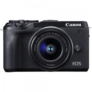 Canon EOS M6 Mark II + 15-45mm IS STM (Black)