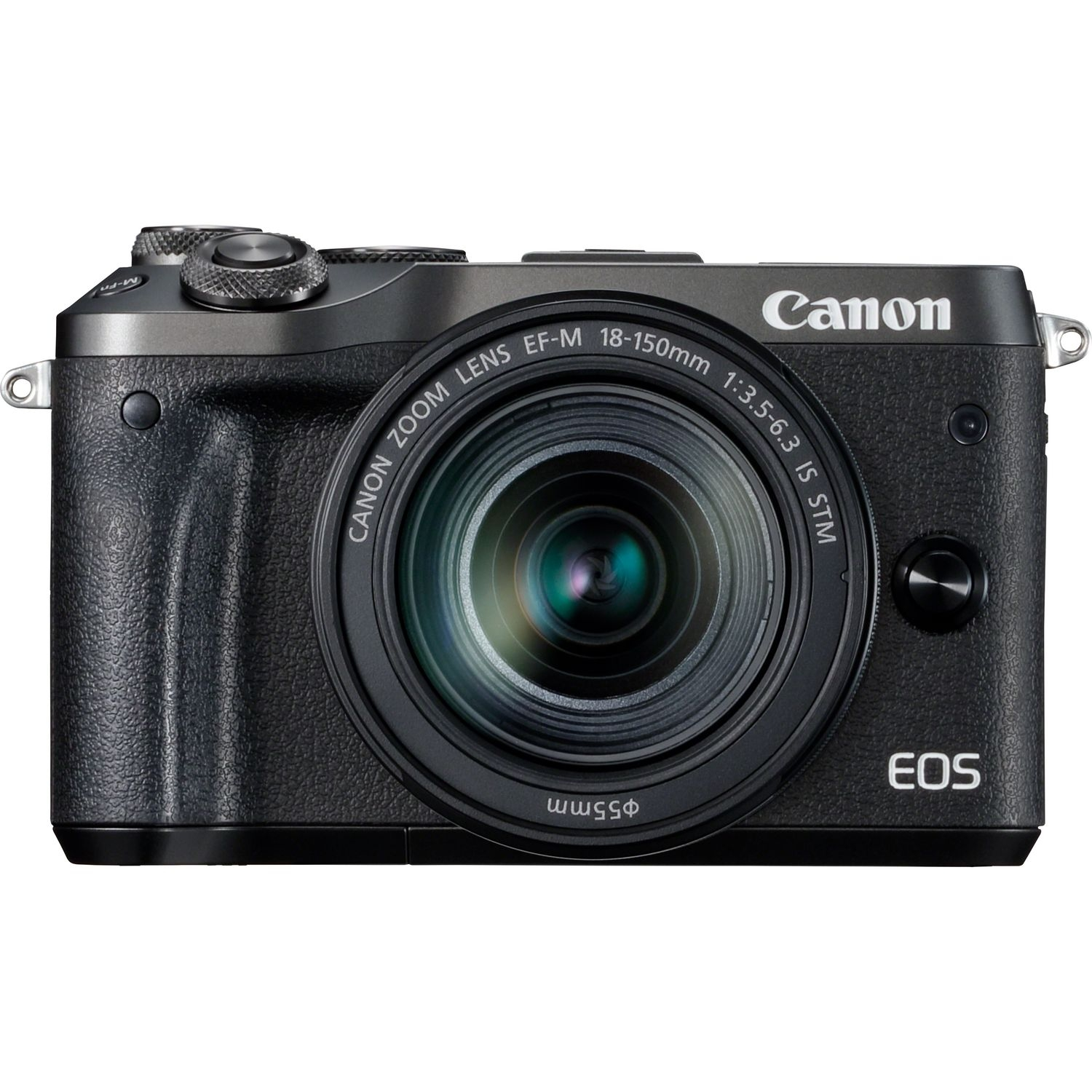 Canon EOS M6 EF-M 18-150mm IS STM (Black)