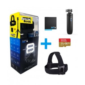 Kamera GoPro Hero8 black (bundle)